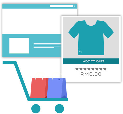 E-commerce or Online-Store setup services in Malaysia with payment gateway